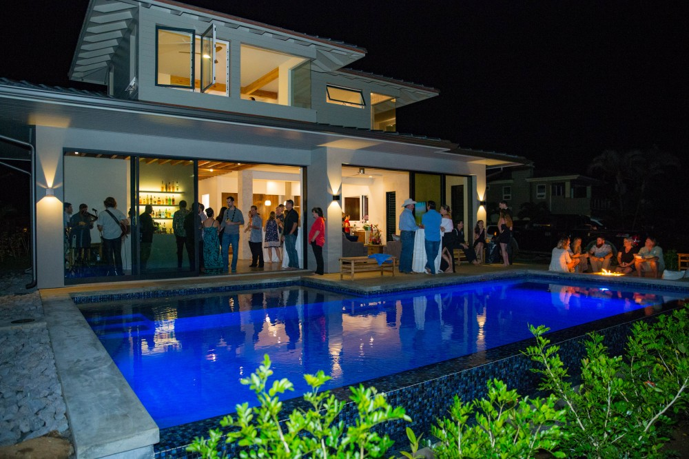 Custom Residence Pau Hana Party