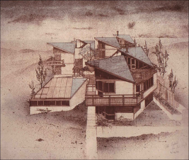 Showing: Sepia Birds-eye perspective